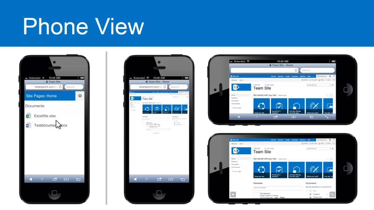 SharePoint mobile Boston